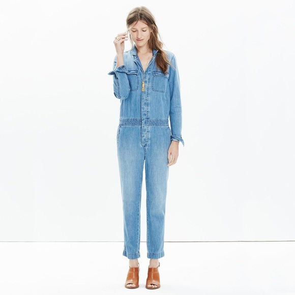 e1130482fb82 Madewell Pants - Madewell Denim Riveter Coverall Jumpsuit